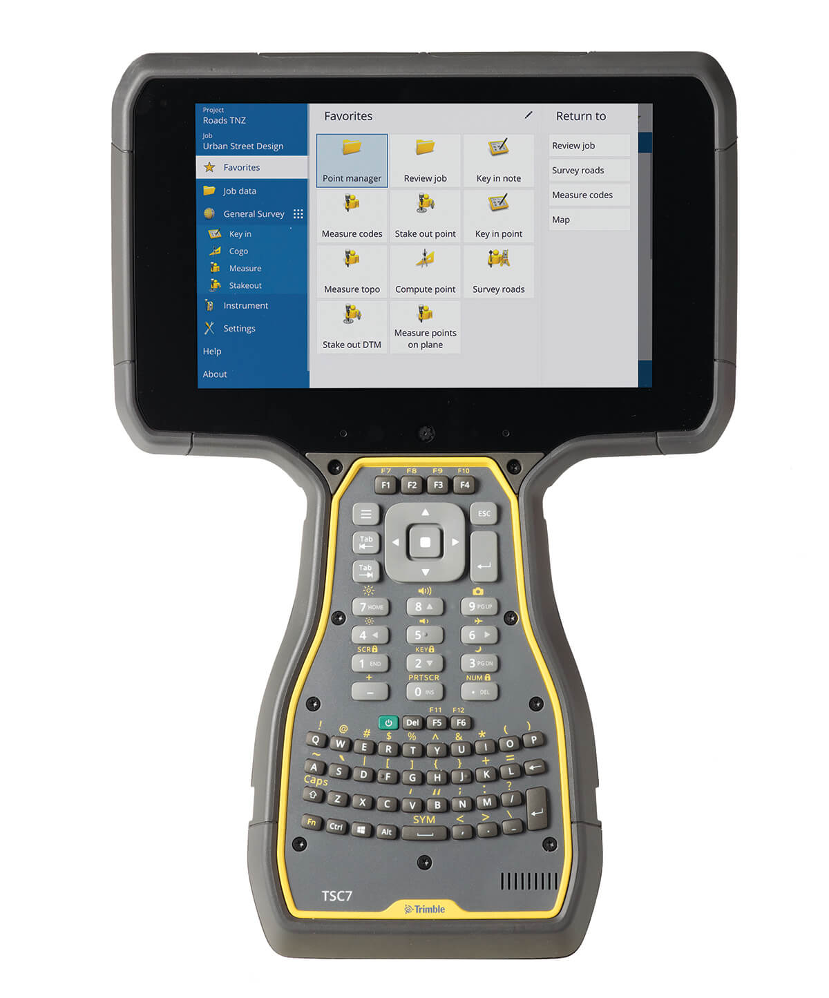 Trimble TSC7 ABCD
